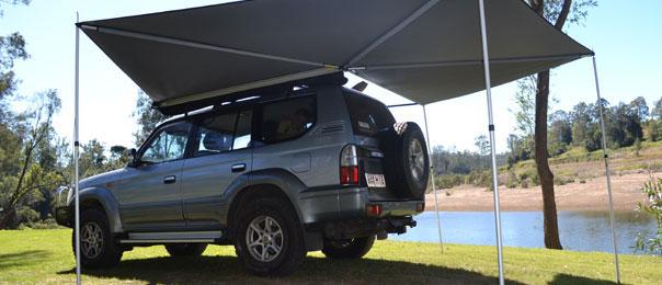 2 5m Supa Peg Supa Wing 4x4 Vehicle Awning 4wd Camper